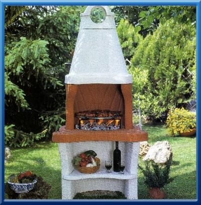 Barbecues forni focolari da cottura alfa refrattari for Ardesia per cucinare